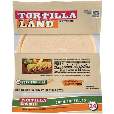 Tortilla Land® Corn Tortillas 24 ct Bag