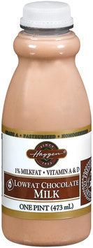 Haggen Lowfat Chocolate Milk 1 Pt Plastic Bottle