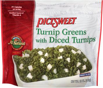 Pictsweet® Turnip Greens with Diced Turnips 12 oz. Bag