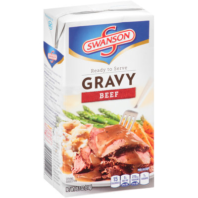 Campbell's Swanson® Ready to Serve Beef Gravy