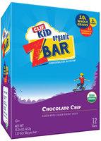 CLIF Kid® Organic ZBar Chocolate Chip Energy Snacks 12 ct Box