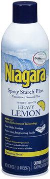 Niagara® Heavy Lemon Spray Starch Plus 20 oz. Aerosol Can