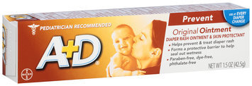 A+D® Original Diaper Rash Ointment & Skin Protectant 1.5 oz. Box