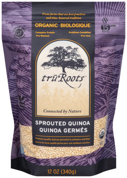 truroots™ organic sprouted quinoa --truroots™ quinoa germes sac de