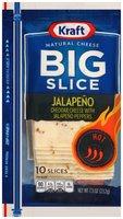 Kraft Big Slice Jalapeno Cheese Slices 10 ct ZIP-PAK®