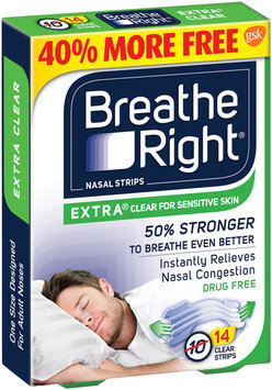 Breathe Right® Extra Clear Nasal Strips