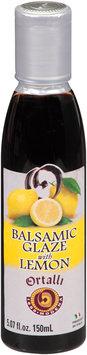 Ortalli Balsamic Glaze with Lemon 5.07 fl. oz. Bottle