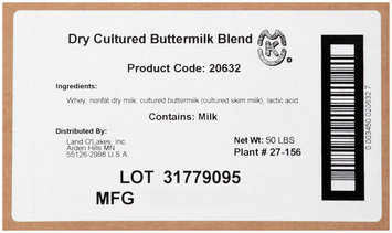 Land O' Lakes Dry Cultured Buttermilk Blend
