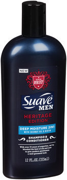 Suave® Men Heritage Edition™ Deep Moisture 2in1 Shampoo & Conditioner 12 fl. oz. Squeeze Bottle