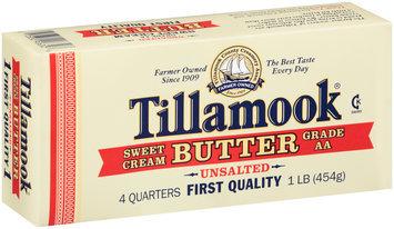 Tillamook® Sweet Cream Unsalted Butter 1 lb. Box