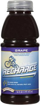 R.W. Knudsen Recharge® Grape Sports Drink 16 oz Bottle