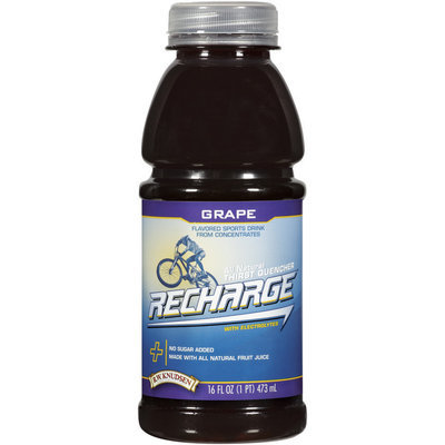 R.W. Knudsen Recharge® Grape Sports Drink 16 oz Bottle