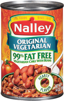 Nalley® Original Vegetarian Chili with Beans 14 oz. Can