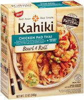 Kahiki® Chicken Pad Thai Bowl & Roll Meal for 1 12 oz. Box