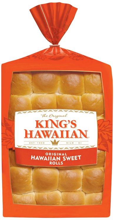 King's Hawaiian® Original Hawaiian Sweet Rolls 24 ct Bag