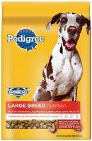 Pedigree Large Breed Nutrition Dry Dog Food 20 Lb Bag