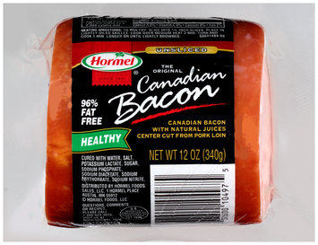 Hormel® The Original Unsliced Canadian Bacon 12 oz. Package