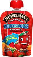 Musselman's® Squeezables Strawberry Apple Sauce 3.17 oz. Pouch