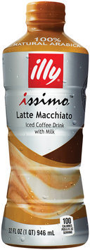 Illy® Issimo™ Latte Macchiato Iced Coffee Drink 32 fl. oz. Bottle