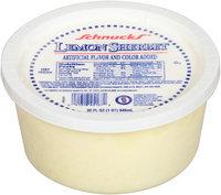 Schnucks® Lemon Sherbet 32 fl. oz. Tub