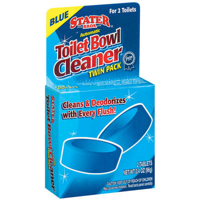 Stater Bros. Automatic Twin Pk Bathroom Bowl Cleaner 2 Ct Peg