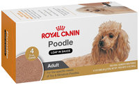 Royal Canin® Breed Health Nutrition® Adult Poodle Loaf in Sauce Wet Dog Food 4-3 oz. Cans