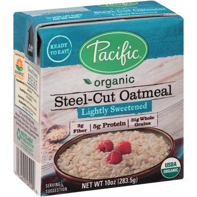 Pacific® Organic Lightly Sweetened Steel-Cut Oatmeal
