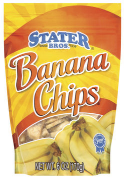 Stater Bros. Banana Chips 6 Oz Peg