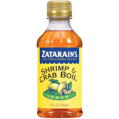 Zatarain's® Lemon Shrimp & Crab Boil 8 fl. oz. Bottle