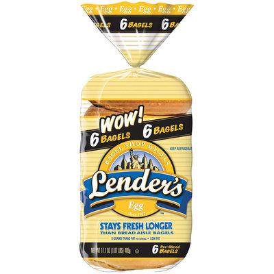 Lender's Refrigerated Egg Bagels 17.1 Oz Bag