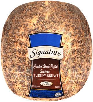 Supervalu® Signature Cracked Black Pepper Seasoned Turkey Breast