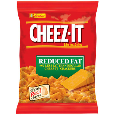 Cheez-It® Reduced Fat Baked Snack Crackers 1 oz. Pouch