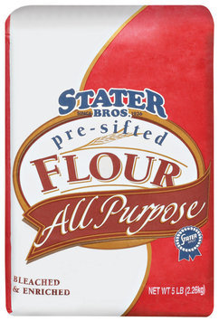 Stater Bros. Pre-Sifted, All Purpose, Bleached & Enriched Flour