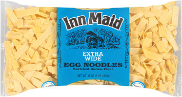 Inn Maid® Extra Wide Egg Noodles Family Size 16 oz. Bag