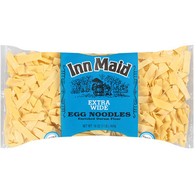 Inn Maid® Extra Wide Egg Noodles Family Size 16 oz. Bag
