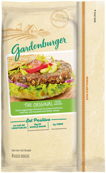 Gardenburger® The Original Veggie Burgers 4 ct Bag