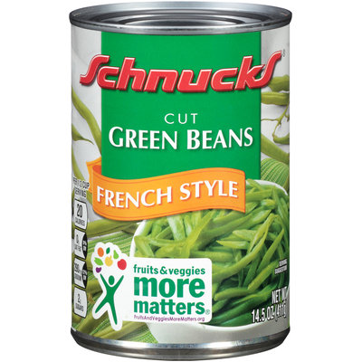 Schnucks® French Style Cut Green Beans 14.5 oz. Can