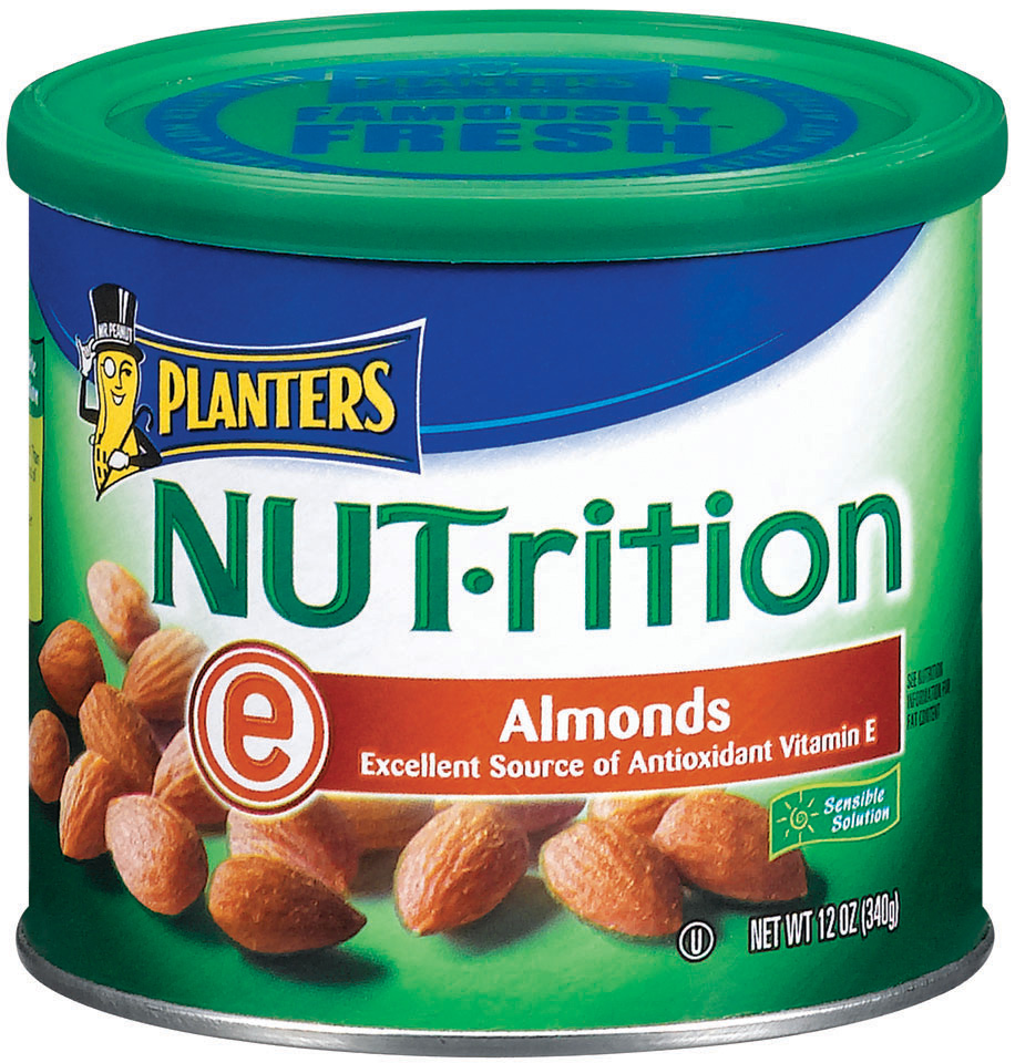 Planters  Nut-Rition Almonds Canister