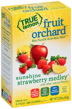 True Lemon® Fruit Orchard™ Sunshine Strawberry Medley™ Drink Mix 7 ct Box