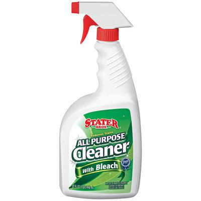 Stater Bros. All Purpose W/Bleach Cleaner 32 Fl Oz Spray Bottle