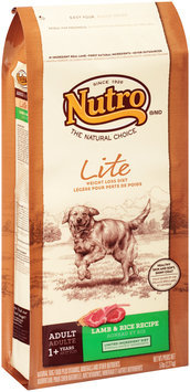 Nutro® Adult Lite Weight Loss Diet Lamb & Rice Recipe Dog Food 5 lb. Bag