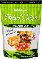 Pretzel Crisps® Jalapeno Jack Pretzel Crackers 11.25 oz. Bag