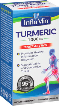InflaMin™ Turmeric 1,000mg Fast Acting Dietary Supplement 60 ct Capsules