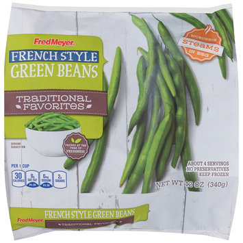Fred Meyer® French Style Green Beans 12 oz. Bag