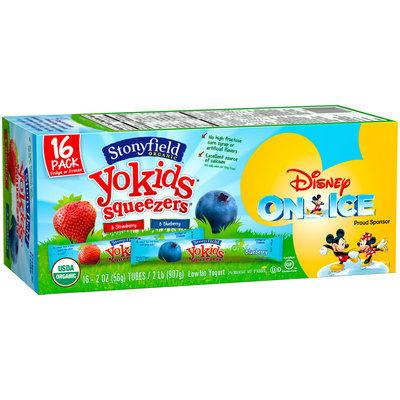 Stonyfield Organic™ YoKids® Squeezers® Organic Strawberry/Blueberry Lowfat Yogurt 16-2 oz. Tubes