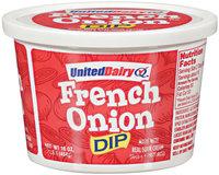 United Dairy® French Onion Dip 16 oz Tub