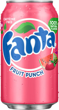 Fanta® Fruit Punch Soda 12 fl. oz. Can
