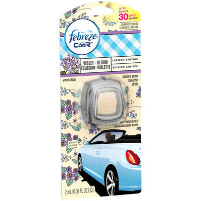 Febreze® Car™ Vent Clips Violet Bloom Air Freshener 0.06 fl oz. Packet
