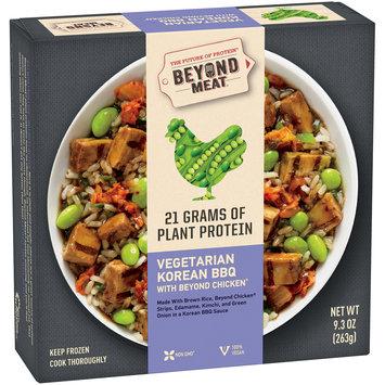 Beyond Meat® Vegetarian Korean BBQ with Beyond Chicken® 9.3 oz. Box