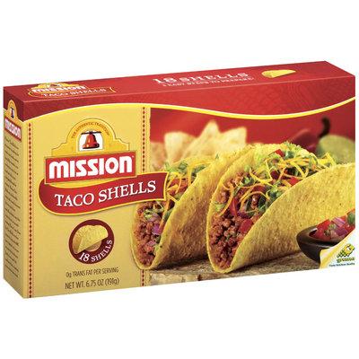 Mission 18 Ct Taco Shells 6.75 Oz Box